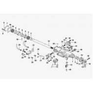 Механизм управления переключения передач А-С03001-63