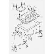Механизм переключения коробки передач КПП 9JS135A-G1800